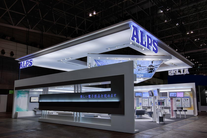 CEATEC JAPAN 2015 - Alps Electric booth