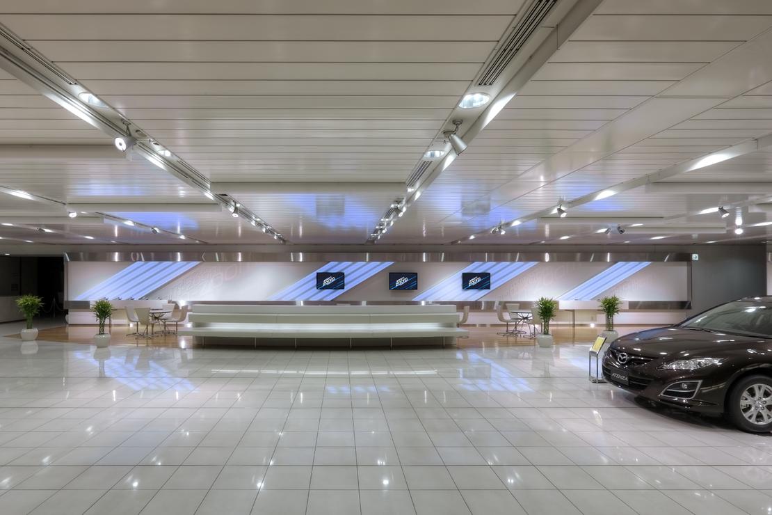 Mazda - Hiroshima Headquarters showroom