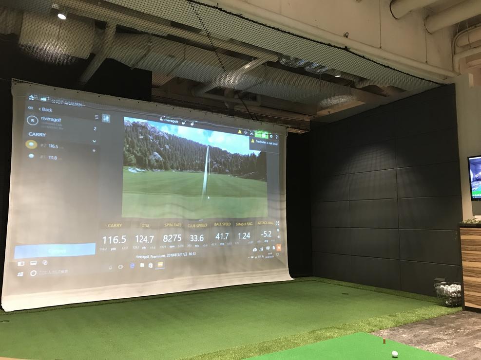 Riviera Sports Club Minami Aoyama - golf area