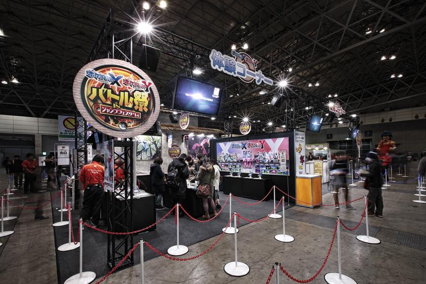 Jump Festa 2014 - Pokemon booth