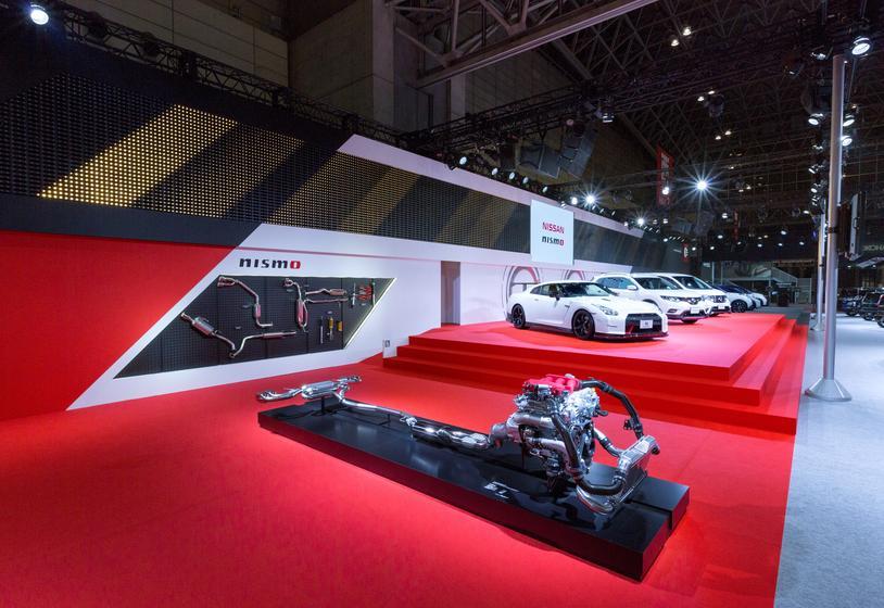 TOKYO AUTO SALON 2016 - Nissan Motor booth