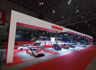 TOKYO AUTO SALON2016 日産自動車ブース