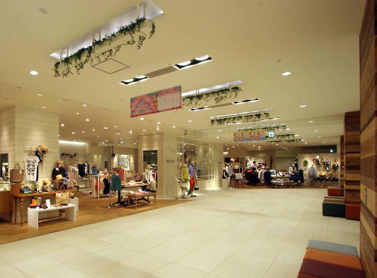 京王聖蹟桜ヶ丘ショッピングセンター B館 2F・3F環境工事