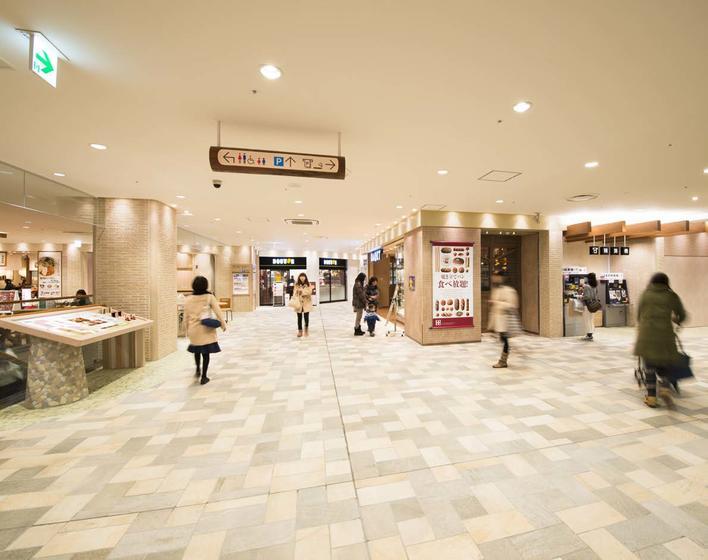 京王聖蹟桜ヶ丘ショッピングセンターC館2Fリニューアル工事