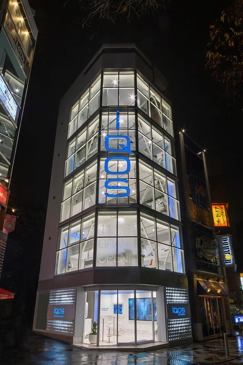 iQOS STORE 原宿店 新装工事