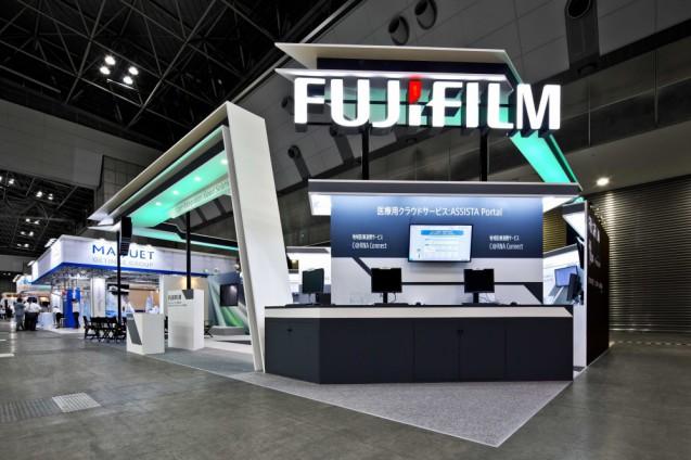 International Modern Hospital Show 2013 - Fujifilm booth