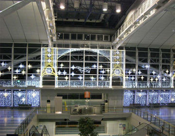 Fukuoka Airport - illumination