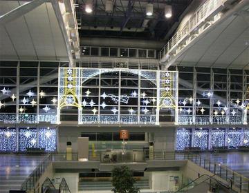 福岡空港イルミネーション工事