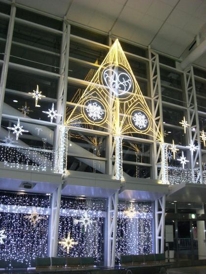 Fukuoka Airport - illumination